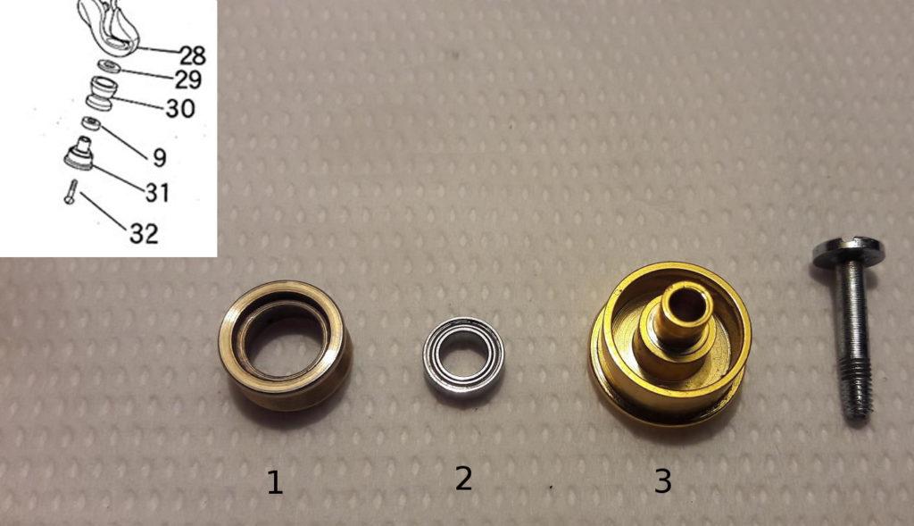 Ryobi Zauber - line roller