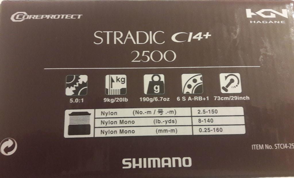 Shimano Stradic CI4+FB  - box